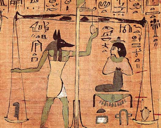 IGDA/M. Seemuller     ЕГИПЕТСКАЯ «КНИГА МЕРТВЫХ» (папирусный свиток, 1000 до н.э.).
