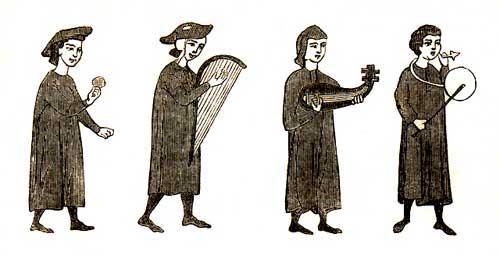 вечерняя песня в поэзии средневековых трубадуров: