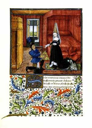 IGDA/G. Nimatallah     ИЛЛЮСТРИРОВАННАЯ РУКОПИСЬ поэмы Дж.Боккаччо ТЕСЕИДА (1340).