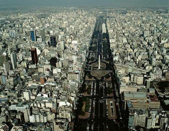 ЦЕНТР БУЭНОС-АЙРЕСА – столицы Аргентины. IGDA/Pubbliaerfoto