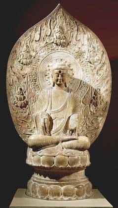 © DeA Picture Library     БУДДА, китайская скульптура