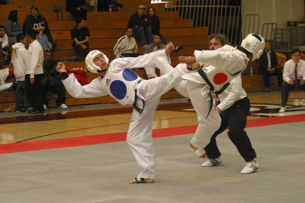 СПАРРИНГ.  Copyright 2003 Ed H. Chi and Stanford University TKD Program