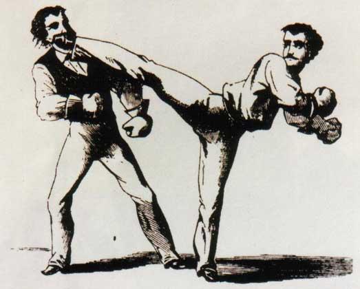 Английский бокс.