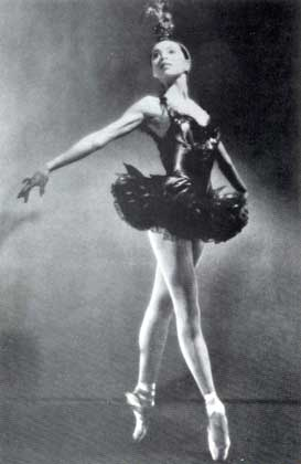 Courtesy of Von Heidecke's Chicago Festival Ballet.     MАРИЯ ТОЛЧИФ