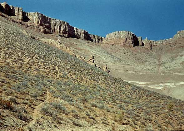 IGDA КОНУСЫ ВЫНОСА (пролювиальные шлейфы) в пустынях Туркменистана.