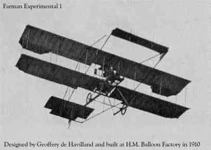 Courtesy of Rosebud's WWI and Early Aviation Image Archives     САМОЛЕТ FARMAN EXPERIMENTAL 1