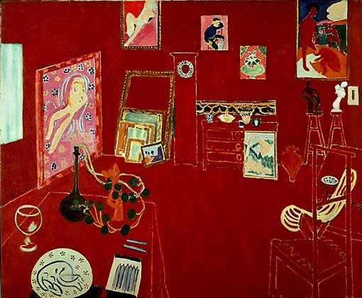 АНРИ МАТИСС. КРАСНАЯ МАСТЕРСКАЯ  IGDA/A. Dagli Orti/© 1997 Succession H. Matisse, Paris/Artists Rights Society (ARS), New York