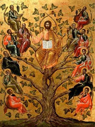 ИИСУС ХРИСТОС И ДВЕНАДЦАТЬ АПОСТОЛОВ. IGDA/G. Dagli Orti