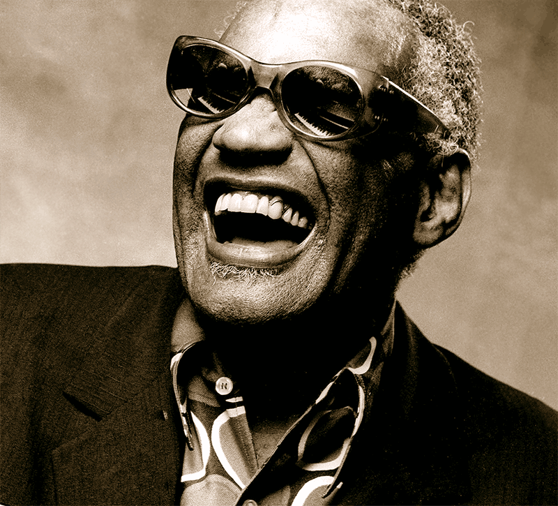 РЭЙ ЧАРЛЗ (Ray Charles). Photo: Ray Charles's official Facebook page.